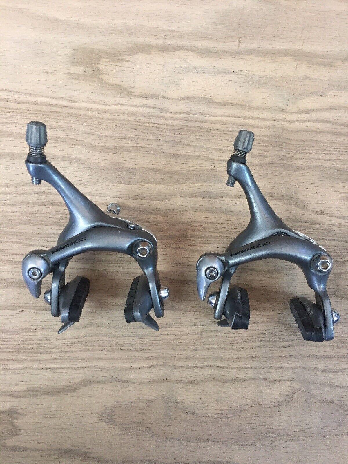 Shimano 600 por la Cocheretera BR - 6403, frenos para bicicletas, pinzas de laca.