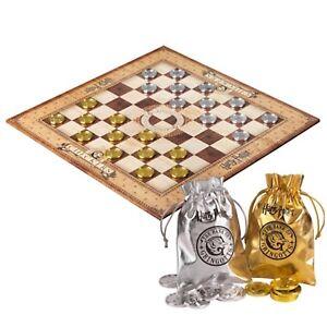 Harry Potter Gringotts Bank DAME Brettspiel Spiel Gesellschaftss<wbr/>piel Checkers