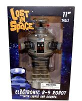Diamond Select Lost In Space Robot B-9 Electronic Action Figure 11 Inch Talk