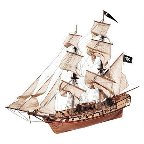 Occre Corsair Brig 1 80th Scale Model Boat Display Kit 13600