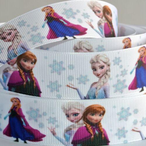 "Disney Frozen Ribbon 1/"" Wide NEW UK SELLER FREE P/&P"