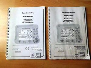 Amazone-Bordrechner-Amatron-fuer-Feldspritzen-Betriebsanleitung