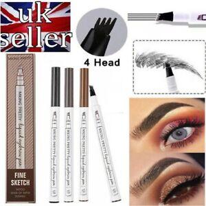 Microblading-Tattoo-Eyebrow-3D-liquid-Ink-Pen-waterproof-4-fork-pencil-brow-UK