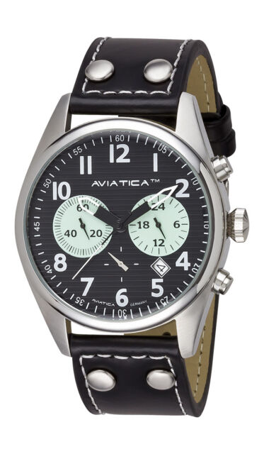 AVIATICA Armbanduhr Herren Flight Commander Collection IV Chrono 03252014