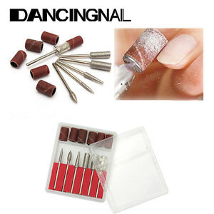 6Pcs-set-Nail-Art-Electric-Drill-Bits-File-Kit-Manicure-Machine-Grinding