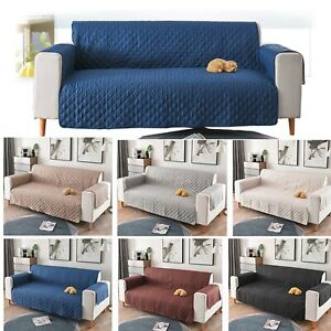 1-2-3-Seat-Couch-Sofa-Cover-Slipcover-Waterproof-Pet-Mat-Dog-Furniture-Protector