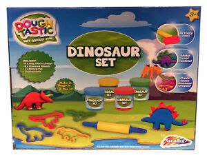 Dinosaur-Dough-Play-Set-Dino-Modelling-Kit-Soft-Squidgy-amp-Fun-3y-Grafix