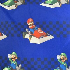 SUPER-MARIO-KART-TWIN-BEDDING-FITTED-Sheet