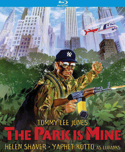 The Park is Mine BLU-RAY NEW