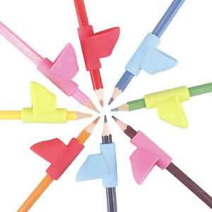 AU-3Pcs-Children-Pencil-Holder-Pen-Writing-Grip-Posture-Correction-Too-PN