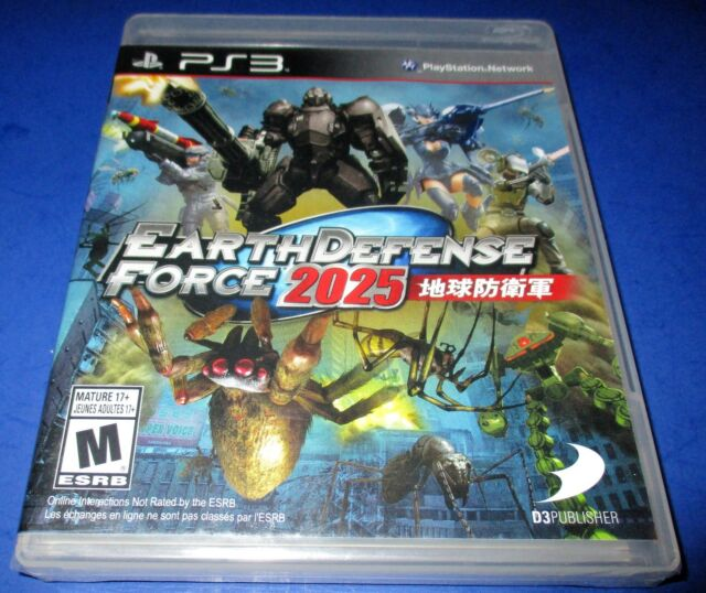 Earth Defense Force 2025 Sony PlayStation 3 *New-Sealed-Free Shipping!
