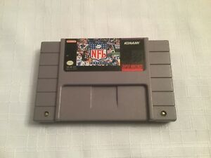 Jeu-Super-Nintendo-SNES-034-NFL-FOOTBALL-034-SNS-NF-USA-VERSION-NTSC-USA