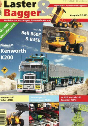 Baumaschinen und Krane im Modell Zeitschrift 2-2019 239 Lastwagen