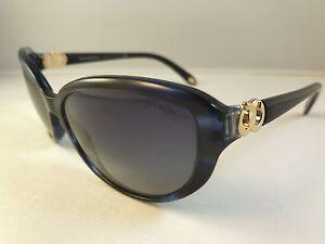 Novo Autêntico Tiffany   Co. Óculos de Sol 4045 Tf 8113 4L Azul E ... c398429314