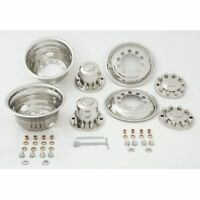 Phoenix Usa Nh252 Wheel Simulators Dually Stainless Kit 22.5 Diameter 10-lug