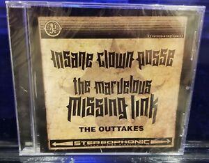Insane-Clown-Posse-The-Marvelous-Missing-Links-Outtakes-CD-SEALED-twiztid-icp