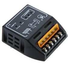 Solar Panel Regulator Charge Controller 10A 12V/24V Auto Switch Safe Inverter