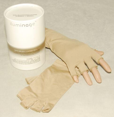 w// COPPER M  Lg NEW iluminage LUXURIOUS Skin Rejuvenating Softening GLOVES