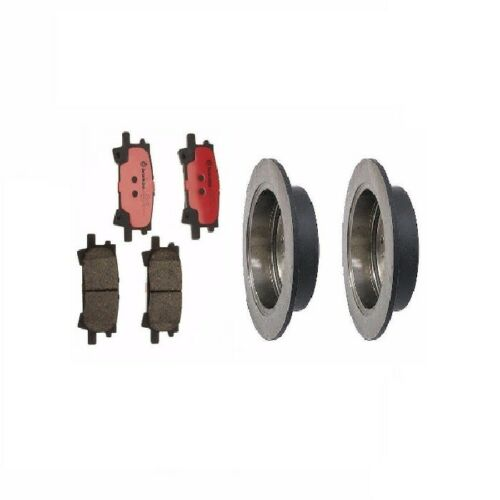 Rear Disc Brake Rotors And Disc Brake Pads Kit For Brembo Lexus RX400h 2006-2008