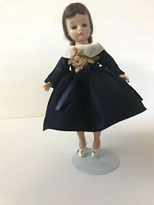 Vintage-Madame-Alexander-Cissette-Doll-with-Tagged-Teddy