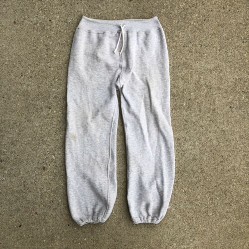 Vintage 50s 60s Sweatpants Gray Athletic Pilgrim S