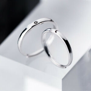 sterling silver ring moon moon shape ring moon silver ring moon ring moon design ring silver ring moon silver silver ring with moon
