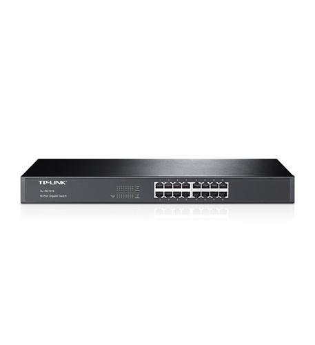 TP-Link 16-Port 10//100//1000Mbps Gigabit Ethernet Rackmount Switch TL-SG1016