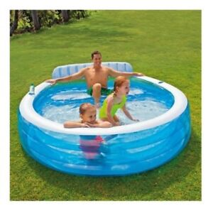 Image Is Loading Small Inflatable Pool Outdoor Backyard Swimming Pools For