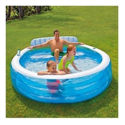 Small Inflatable Pool Outdoor Backyard Swimming Pools For Kids Family Water Play Ebay