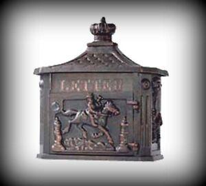 briefkasten antikes design postkasten wandbriefkasten. Black Bedroom Furniture Sets. Home Design Ideas
