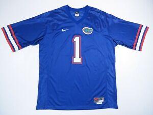 NWOT-Vintage-90s-Florida-Gators-UF-Nike-Team-Sewn-Blue-NCAA-Football-1-Jersey