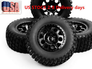 12mm Hex 1:10 Scale RC Short Course Truck Tire & Wheel For TRAXXAS SlASH