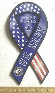 U-S-Navy-Not-For-Self-but-Country-2-in-1-Magnetic-Ribbon