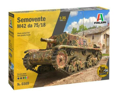Semovente M42 Da 75//18 Mm Kit ITALERI 1:35 IT6569