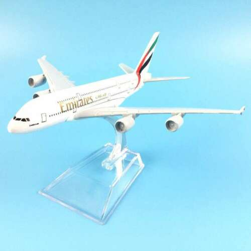 16CM A380 EMIRATES AIRLINES METAL ALLOY MODEL PLANE AIRCRAFT MODEL TOY