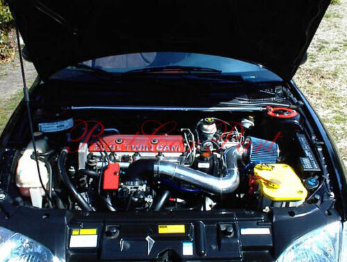 Filter BCP RED 95-02 Chevy Cavalier//Pontiac Sunfire 2.3L//2.4L Cold Air Intake