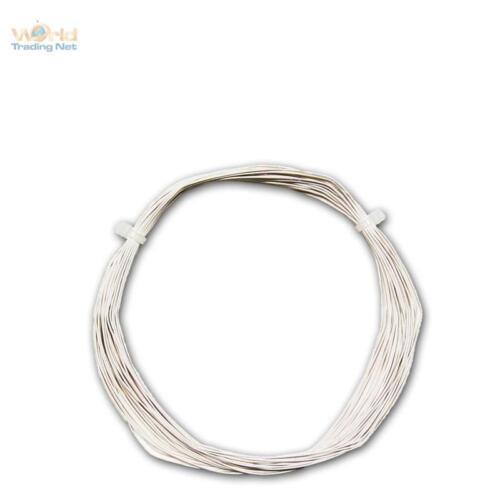 04mm² dekoderlitze lütze Câble 0,28 €//m 10m toron Flex Blanc 0,5mm//0