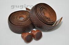 GYES Seamless Drop Handlebar Holes Leather Bar Tape Wrap Wooden plug (DB