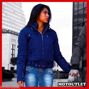 GIACCA GIUBBINO DONNA MOTO SCOOTER SCOTLAND MOD. MARTINA ANTIPIOGGIA PROTEZIONI