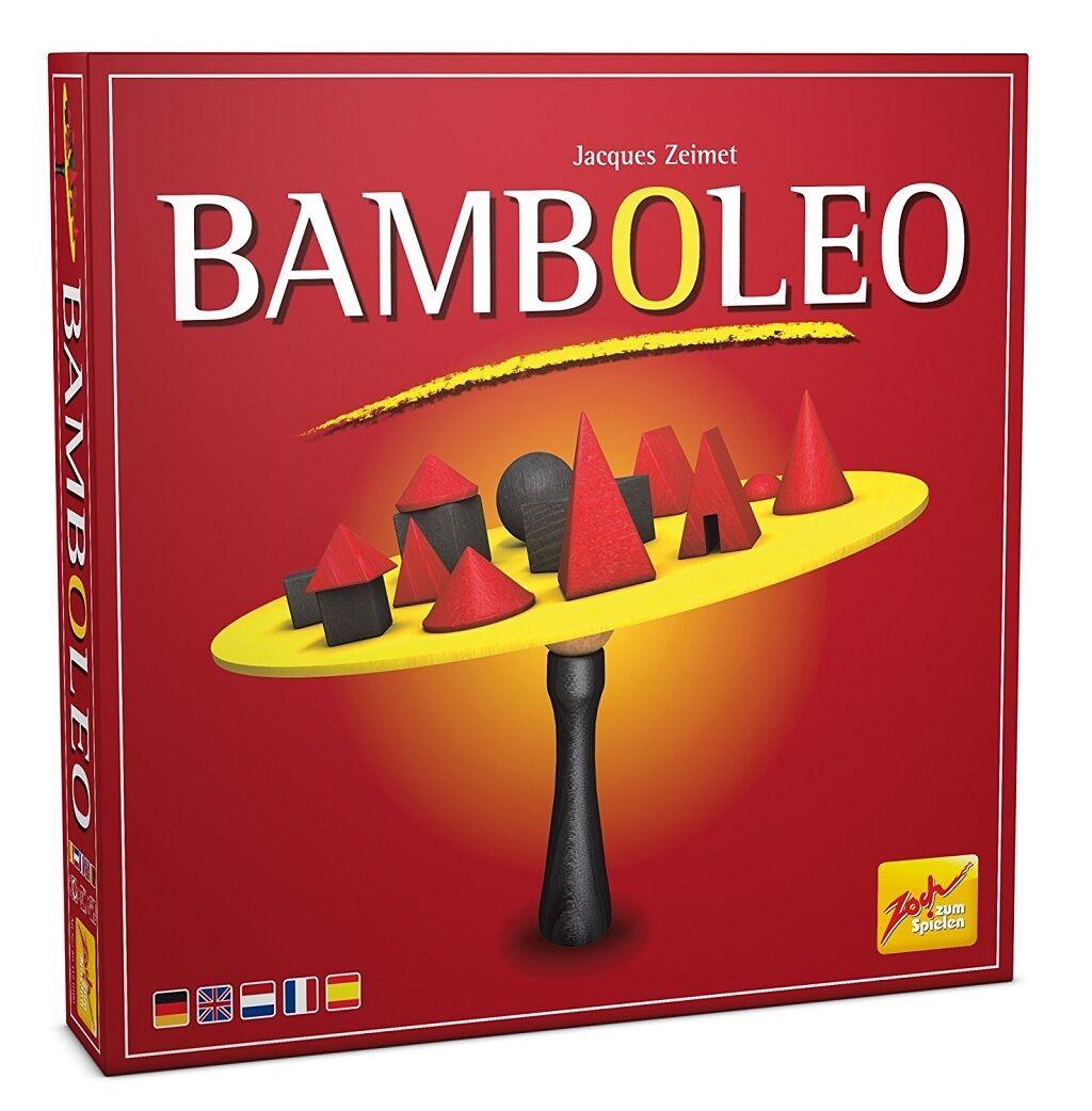 BAMBOLEO équilibre bois et jeu de stratégie par Zoch VERLOG Made in Germany