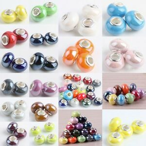 Various-Colors-Murano-Ceramic-Porcelain-Charms-European-Bracelet-Beads-Finding