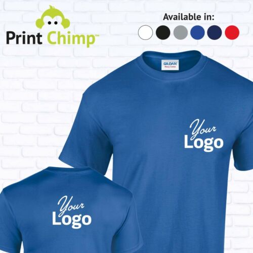 Personalised T-shirt Printed With Your LogoStag /& HenWorkwearPrinting