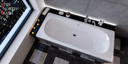 TNB DUO Rechteckige Rechteck Badewanne Acryl 170;180x80 Wannenträger TOP