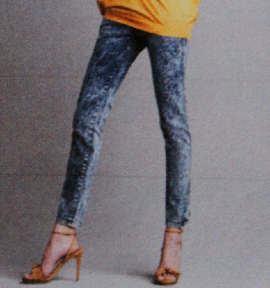 395 New NWT Stella McCartney sz 31 Skinny Ankle Jeans Acid Wash