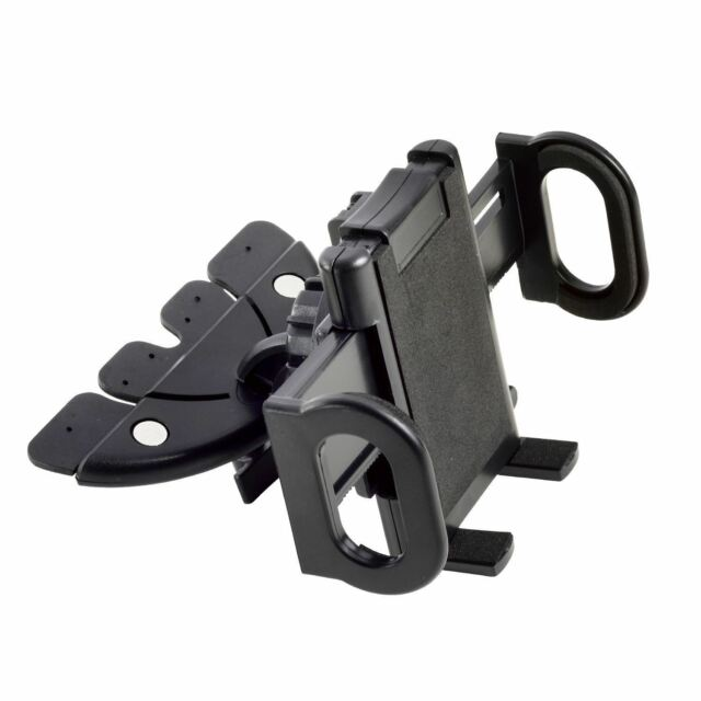 CD Slot Car Mount Mobile Phone Holder GPS for All Devices