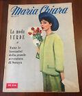 R14 >RIVISTA MARIA CHIARA N. 18 ANNO 1959 - LA MODA VERDE