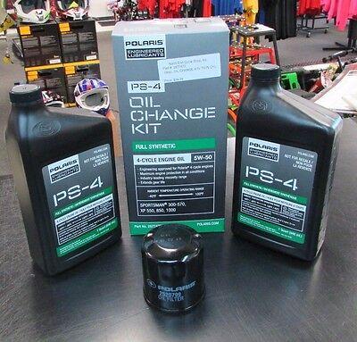 Polaris Oil Change Kit 2877473 Sportsman 300 570 Xp 550 850 1000 Free Shipping Ebay