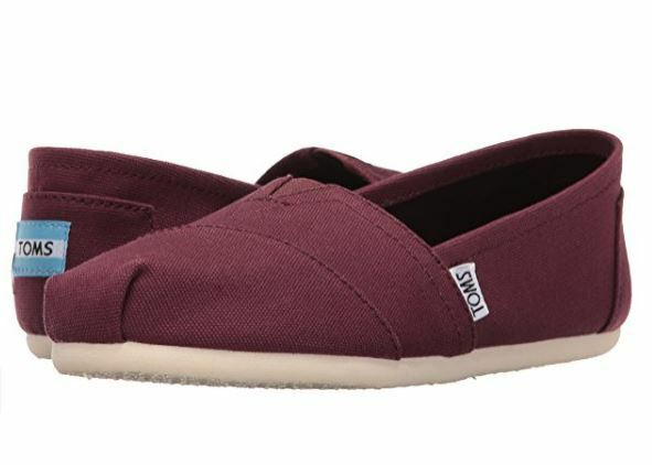 61d638baa3e Toms Men Classic Red Mahogany Canvas 10006564 12 for sale online