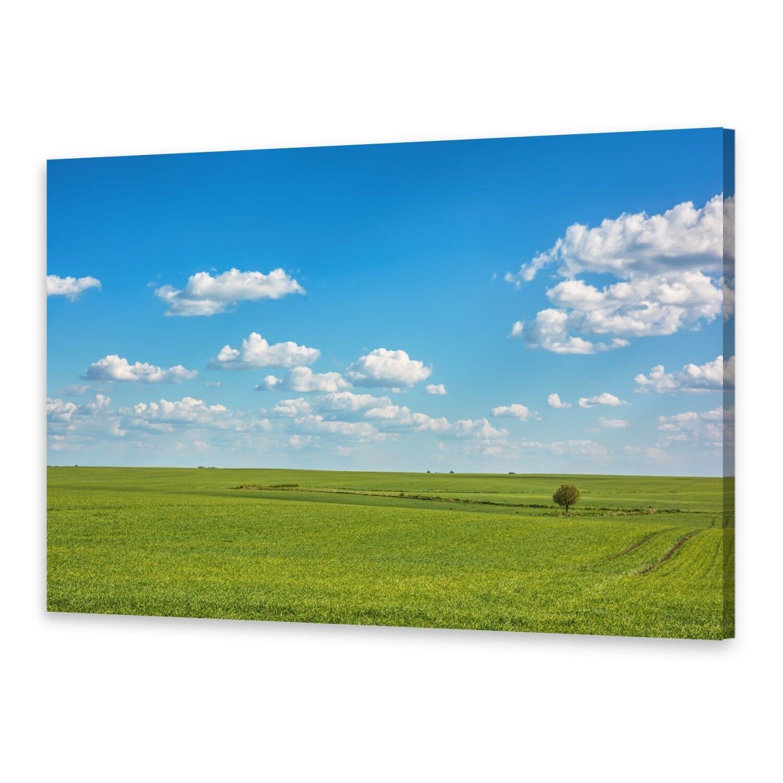 - Tela Immagini Immagine Parete stampa su canvas stampa d'arte prati cielo