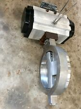 Bray 12 150 Ss Pneumatic Actuated Butterfly Valve 285100f